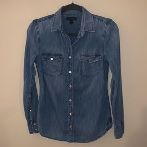 J. Crew denim shirt